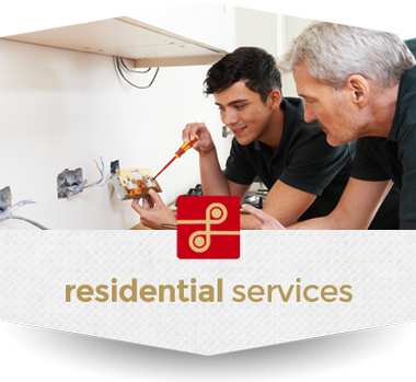 Graphic link for Lindsey Electric's Residential services